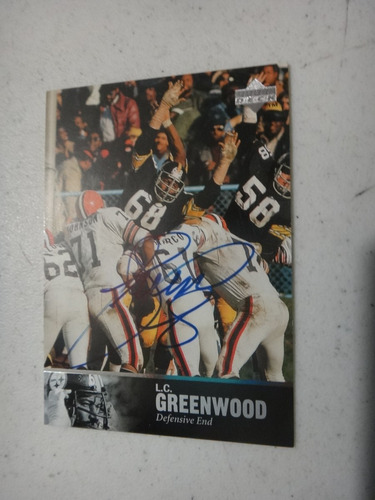 l.c. greenwood (dep) autografiado. envío gratis