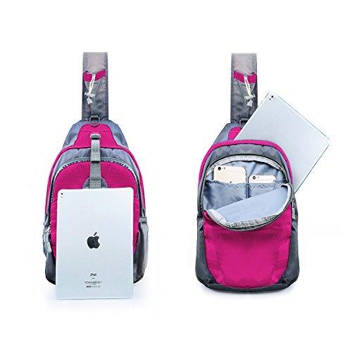 c2ef88f44240 Lc Prime Sling Bag Mochila Hombro En El Pecho Compact Fanny ...