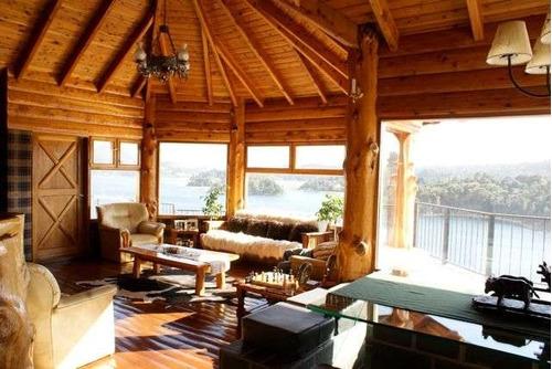 lc214 excelente casa en lago moreno. + 5 dormitorios