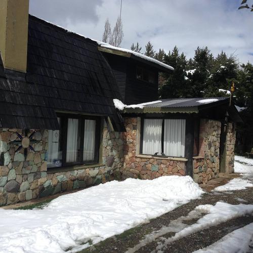 lc343 cerro catedral unico lote con casa + bungalo vista