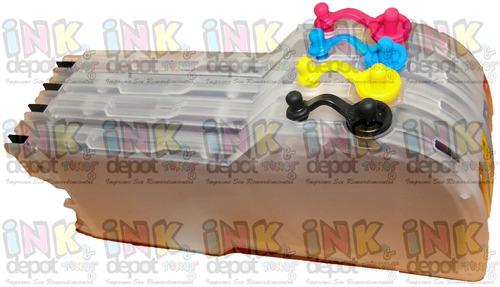 lc61 cartuchos recargables compatible broter alta capacidad