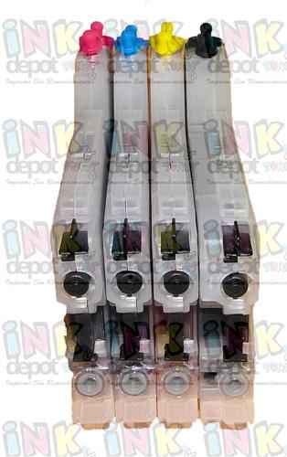 lc71 lc75 cartuchos recargables para brother alta capacidad