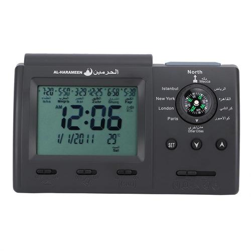 lcd azan clock oración timer reloj de mesa digital mulsim o