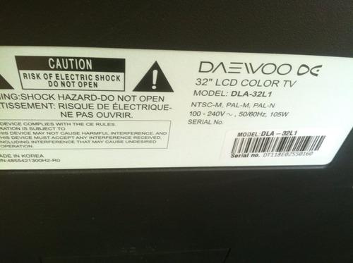 lcd daewoo 32  para repuesto