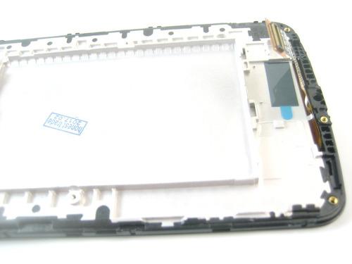 lcd display screen+touch+frame lg k10 k410 k420 k430~gold