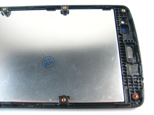 lcd display screen+touch+frame lg l fino d290~black