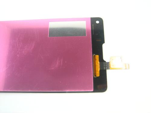 lcd display screen+touch  zte nubia z5s mini nx403a~black