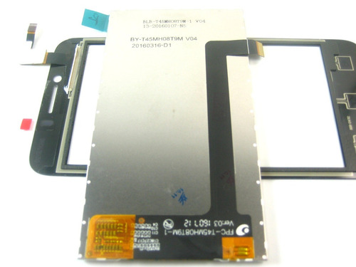 lcd display screen with touch  huawei ascend y560~black
