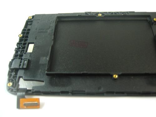 lcd display touch+frame lg k350n k350e k350ds k8~black