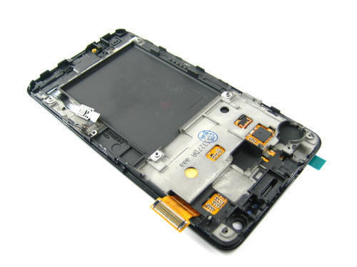 lcd display+touch +frame samsung galaxy s 2 ii i9100~black