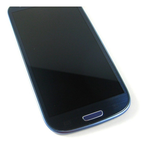 lcd display+touch +frame samsung galaxy s3 i9301 neo~blue