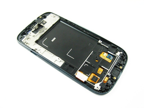 lcd display+touch +frame samsung galaxy s3 siii i9300~black