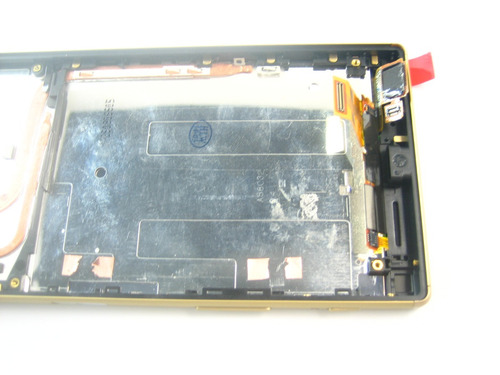 lcd display+touch +frame sony xperia z5 e6603 e6653~gold