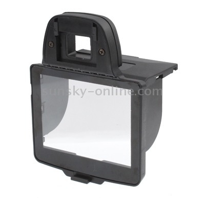 lcd screen protective estuche digital sunshade hood