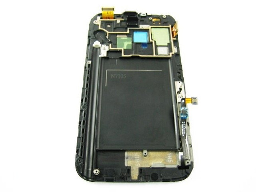 lcd+touch+frame samsung galaxy note 2 ii lte n7105~white