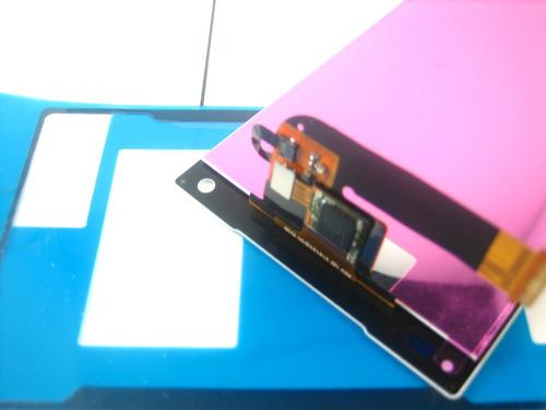 lcd +touch+glue sony xperia z5 compact e5803 e5823~white