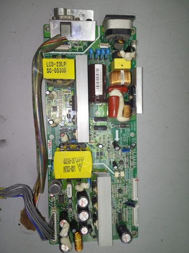 lcd23l fuente pantalla lg modelo 23lx1rv