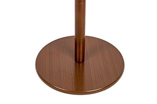 lchperchero de pie madera de hule macizo salón escudo