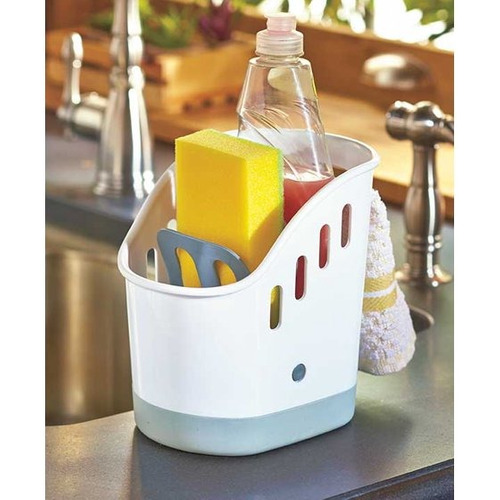 lci handy sink caddy plastic dishwashing