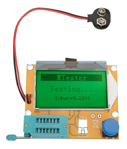 lcr-t4 esr  tester de diodo capacitância