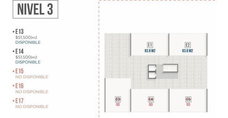 (lct) oficinas en preventa en centrito valle