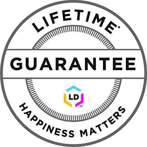 ld© compatible okidata 43324467yellow laser toner cartridge
