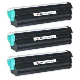 ld© compatible okidata 43502001conjunto de 3de high yield