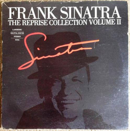 ld frank sinatra laserdisc duplo reprise collection vol 2