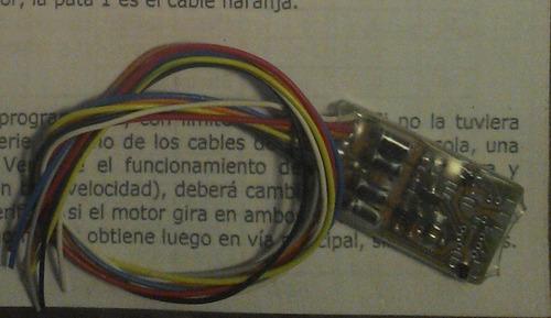 ldh decoder dcc system dual-mode 2 funciones 2f1.5 - ho