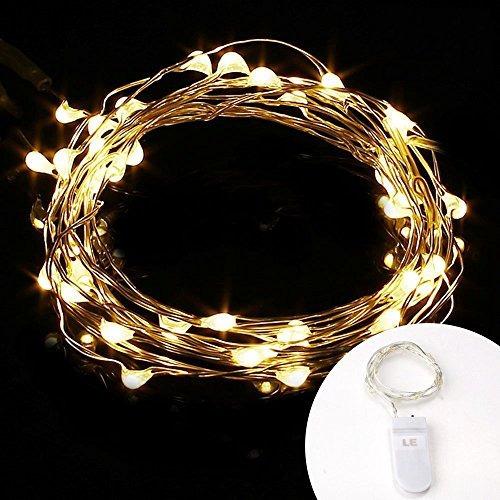 le 16 pack 20 micro starry led de alambre de cobre de alambr