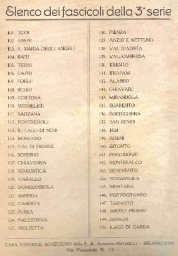 le cento citta d'italia illustrate - sonzogno - milano