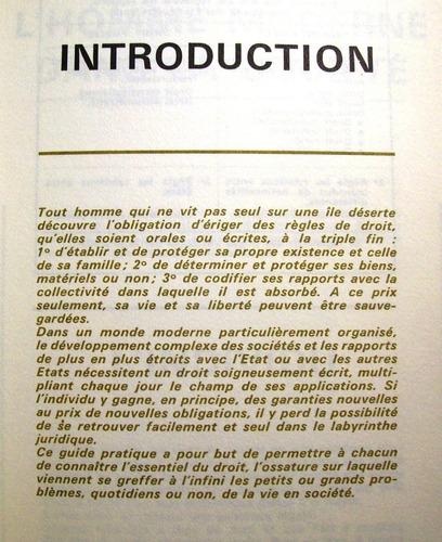 le droit et vos droits durand librairie larousse paris 1966