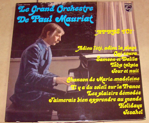le grand orchestre de paul mauriat apres toi lp frances