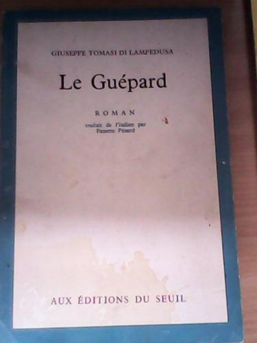 le guèpard - giuseppe tomasi di lampedusa en frances