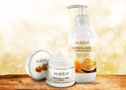 le lab de beaute/ crema con quinoa y miel