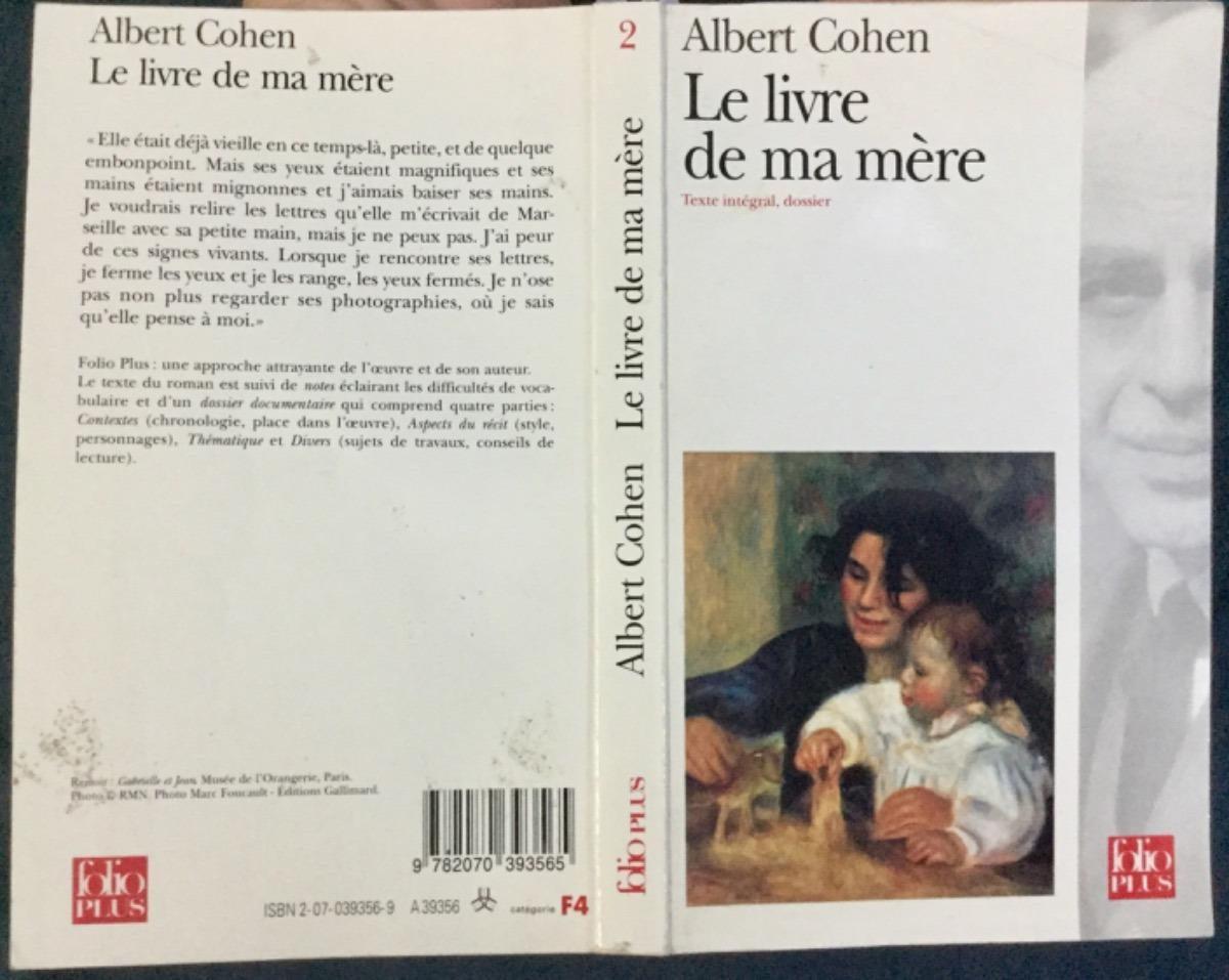Le Livre De Ma Mère Albert Cohen 50000