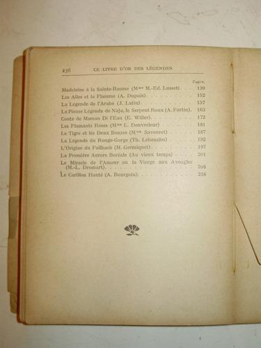 le livre d'or des legendes universite des annales fra 1913