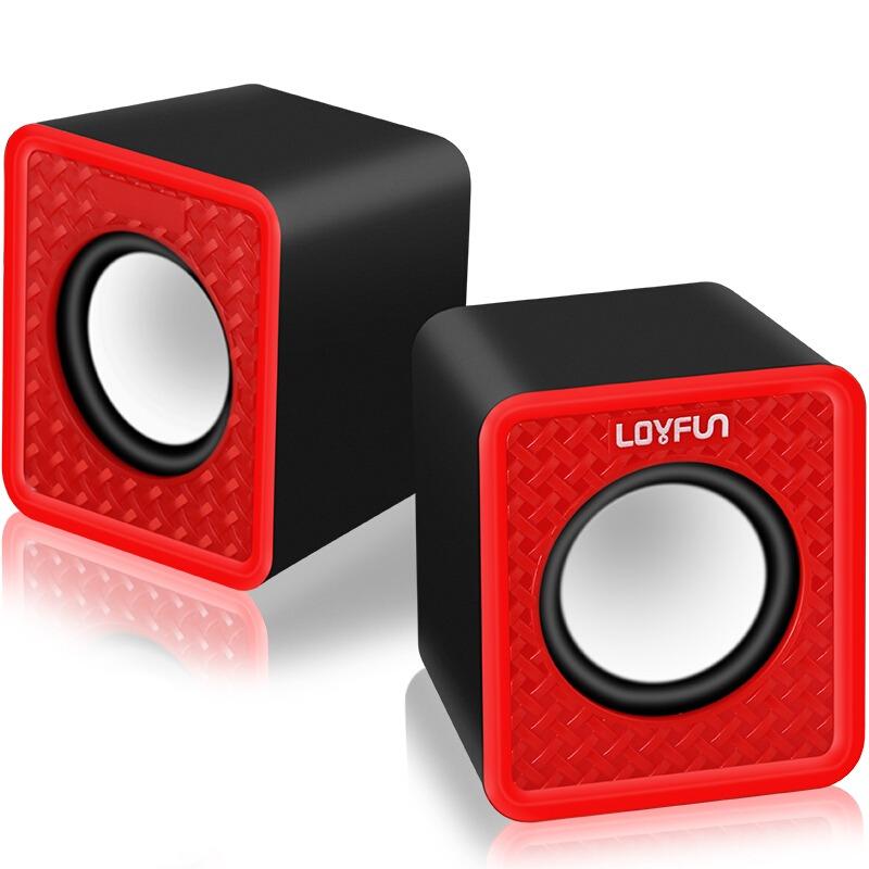 le loyfun lf -501 2.0 canales mini usb equipo de escritorio
