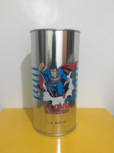 le male eau fraiche - superman - jean paul gaultier
