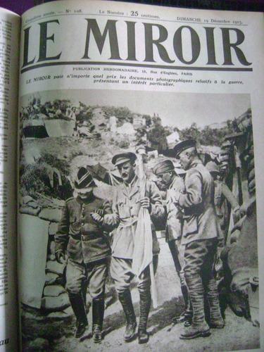 le miroir, semanario frances / primera guerra mundial/ fotos