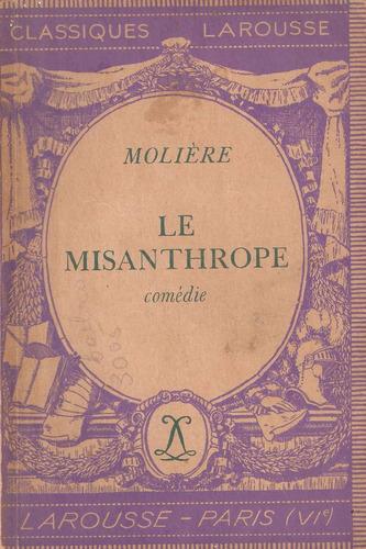 le misanthrope de moliere. en francés. teatro