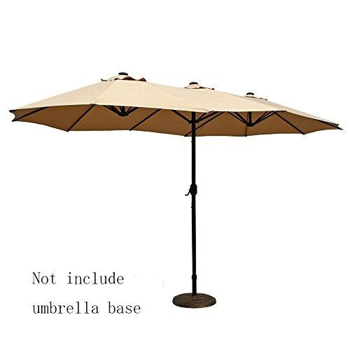 le papillon sombrilla para jardn 14 ft para exterior sombrillas para jardin - Sombrillas De Jardin