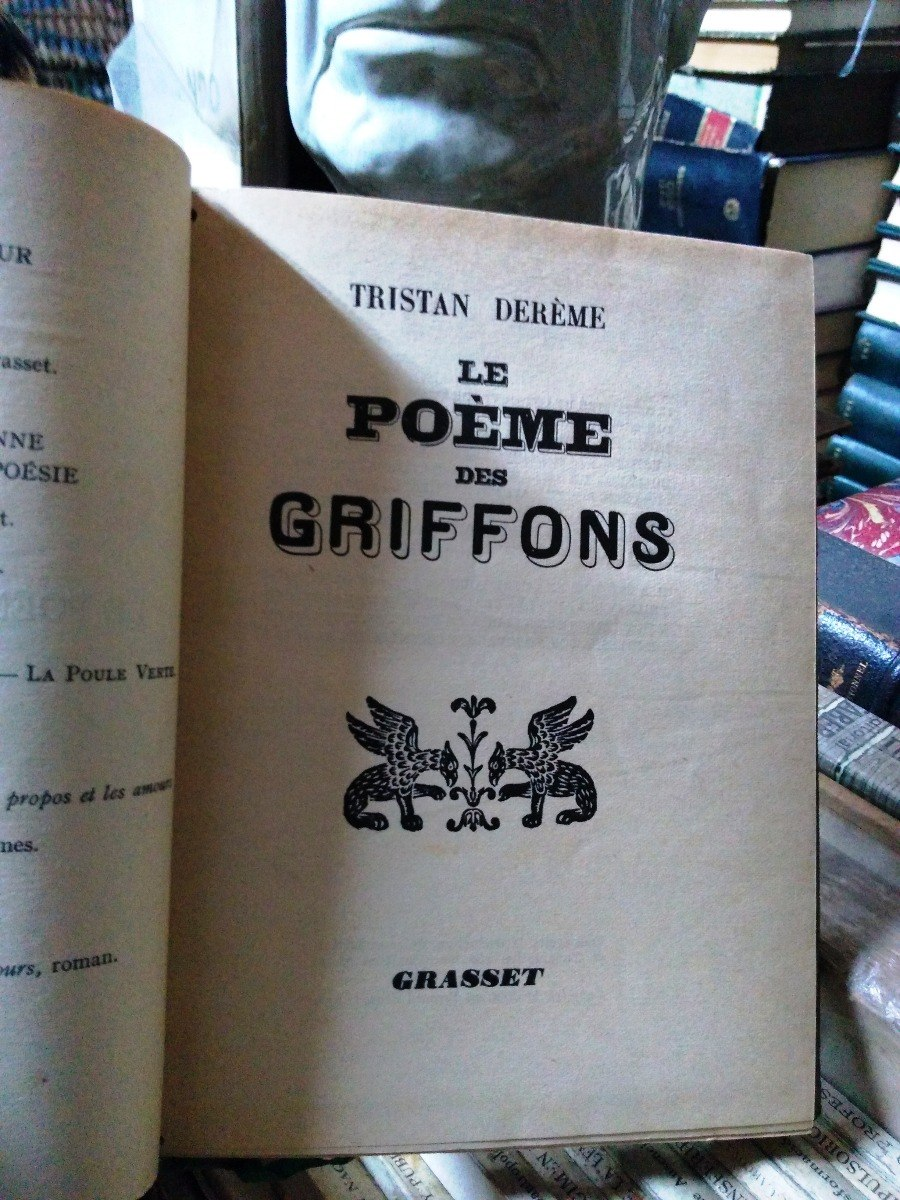 Le Poéme Des Griffons Tristan Dereme 50000