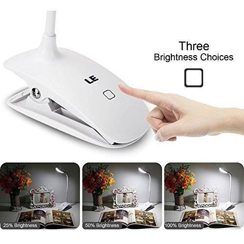 le regulable lámpara de escritorio, clip recargable led lám