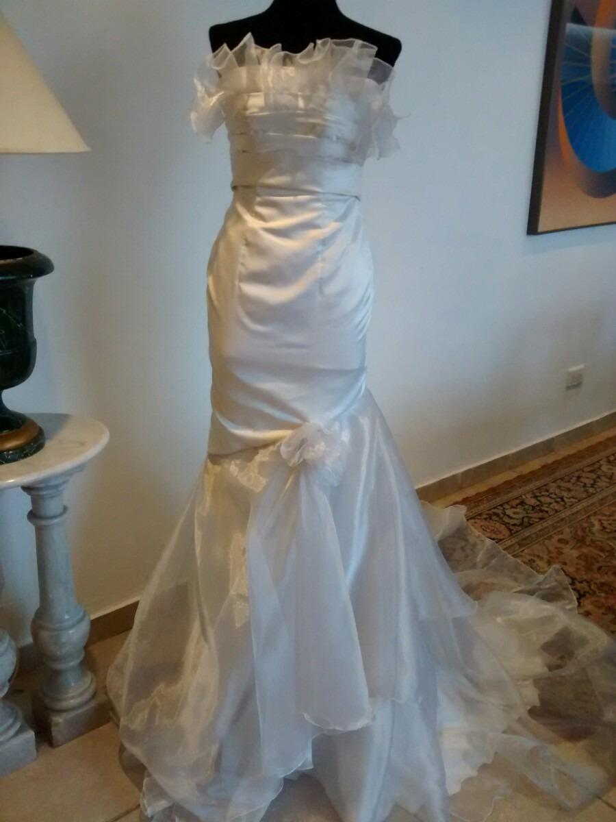 Le Tissu Vestido De Novia Tipo Sirena (0043 Alta Costura) - $ 1.800 ...