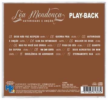 lea mendonça - autoridade e unção - *lançamento* playback mk