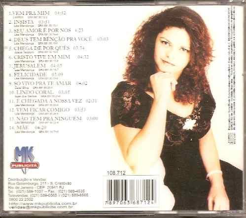 lea mendonça - felicidade - raridade - cd - mk publicitá
