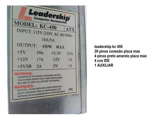 leadership kc 450  450 w  ide  20 pinos