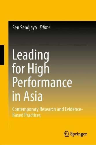 leading for high performance in asia : sen sendjaya