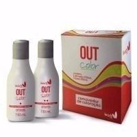 leads care out color removedor de coloração 300ml - 2 itens
